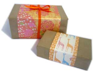 unique gift wrapping ideas layered paper