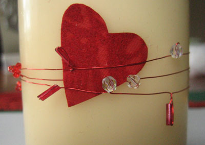 valentine table decorations to make
