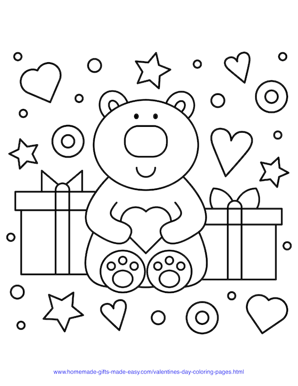 15 Valentine's Day Coloring Pages for Kids | Shutterfly | 776x600