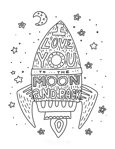 50 Free Printable Valentine's Day Coloring Pages