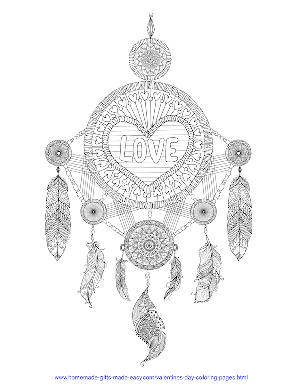 40+ Valentine's Day Coloring Pages PDF Printables