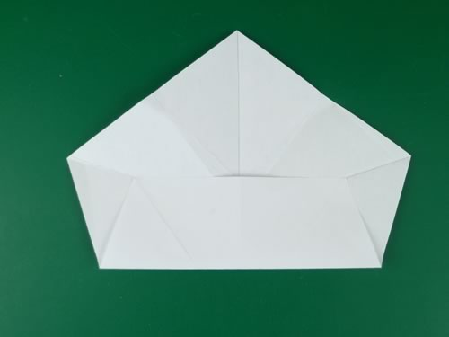 5 pointed origami star step 1b