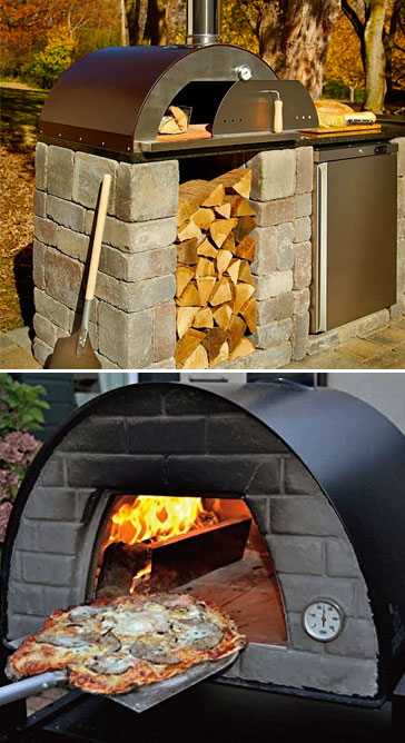 5 year anniversary gift wood fired pizza oven