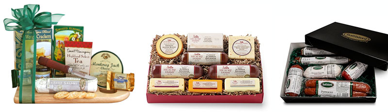 50th birthday ideas gift box aged meat cheese