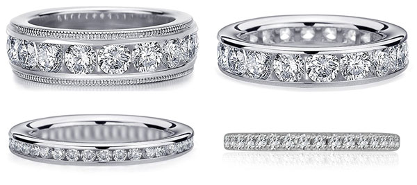 50th birthday ideas eternity ring