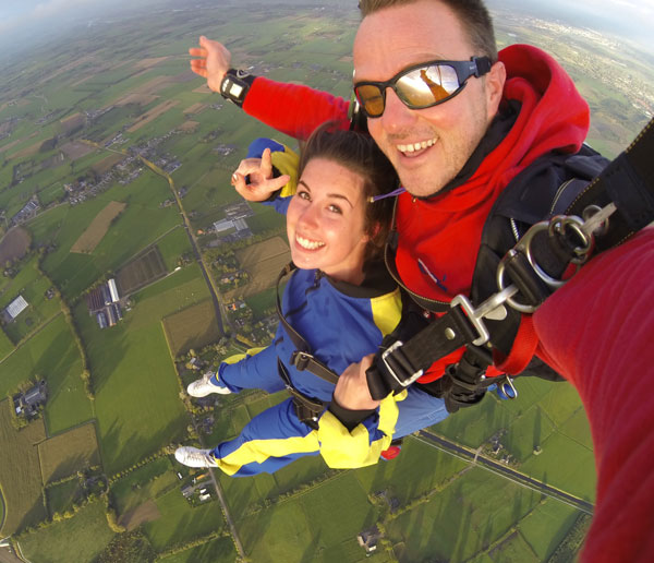 50th birthday ideas skydive