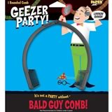 30th birthday gag gift bald guy comb