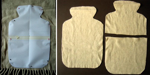 beginners sewing projects hot water bottle cover 4
