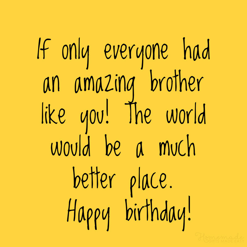 150+ Happy Birthday Wishes for Brother - Best, Funny, Heart