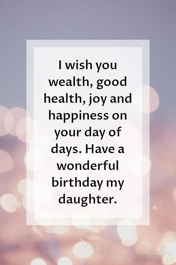 85+ Happy Birthday Wishes for Daughters - Best Messages & Quotes