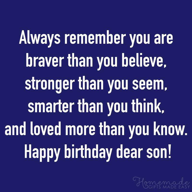 Birthday Quotes For Son 800x800