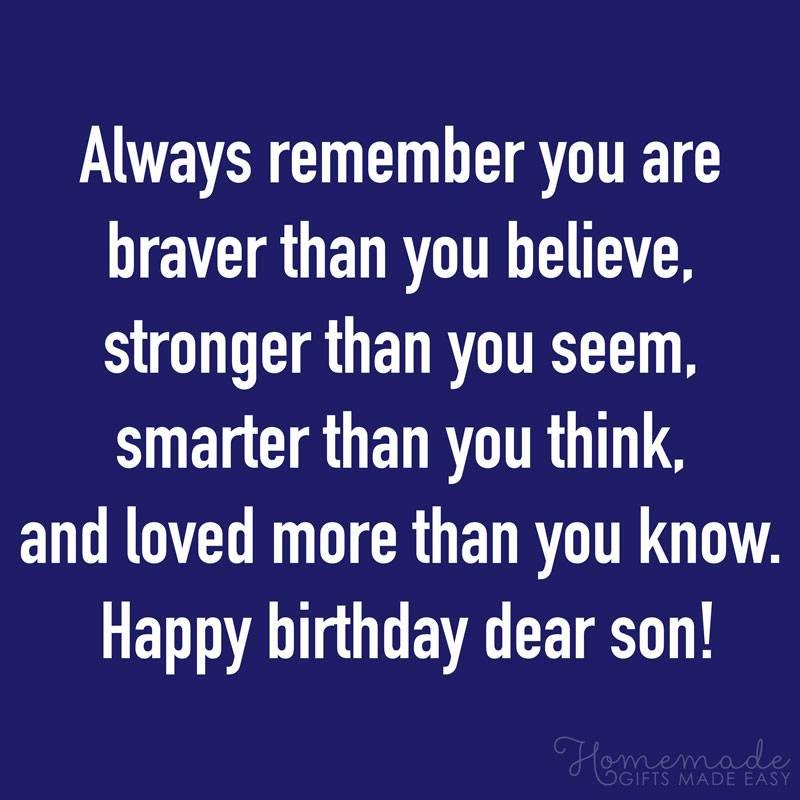 Birthday Wishes For Son.101 Birthday Wishes For Son