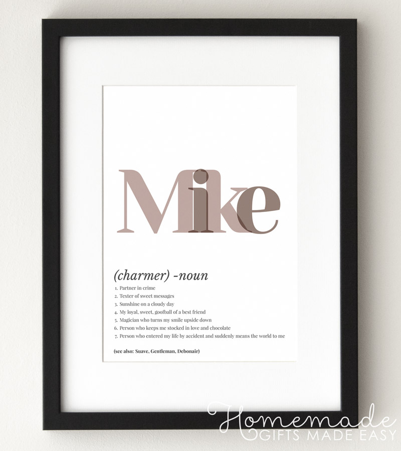 name definition art poster