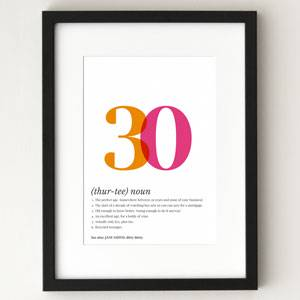 Stupendous 30Th Birthday Quotes And Sayings Personalised Birthday Cards Paralily Jamesorg