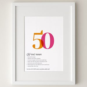 definition poster 50