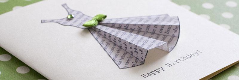 dress card template