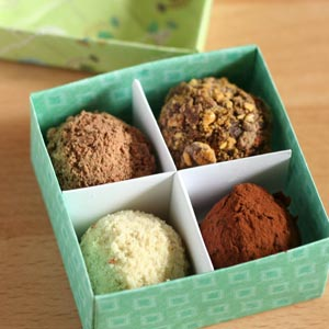 homemade valentine gifts easy truffle recipes