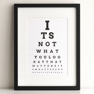 eye chart maker