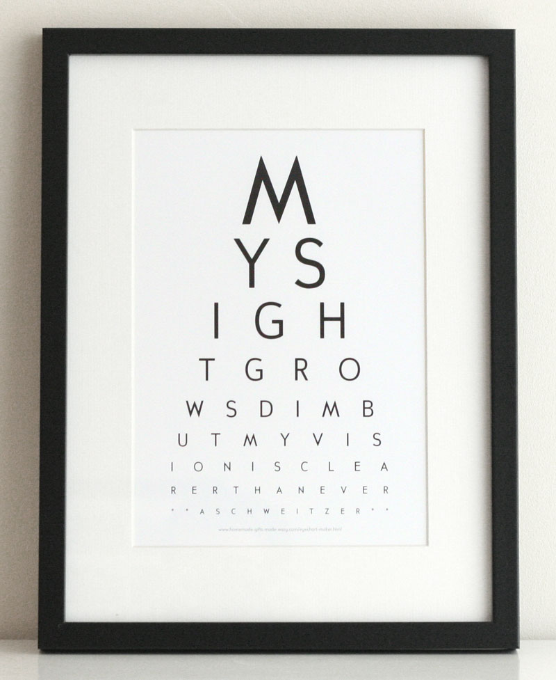 Free Eye Chart Maker Create Full Page Custom Eyecharts