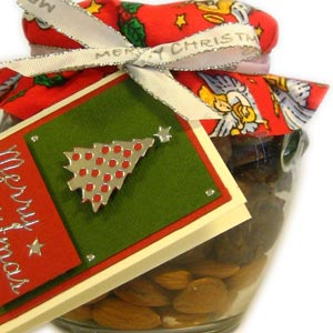 homemade food gifts in a jar
