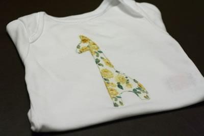 free applique patterns - giraffe