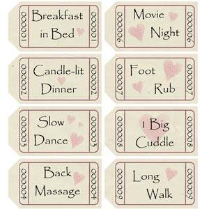 photo regarding Friendship Coupons Printable known as Simplest Home made Boyfriend Reward Plans - Intimate, Lovable, and