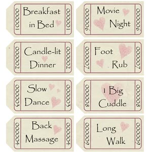 The homemade romantic gift that keeps on giving date night fortune free printable love coupons negle Images