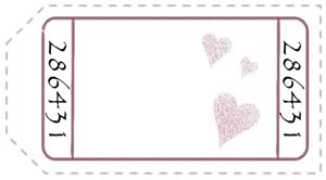 Free Printable Love Coupons  Printable Blank Tickets
