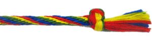 rainbow friendship bracelet - how to make