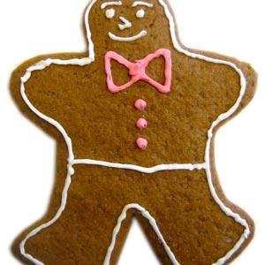 homemade food gifts gingerbread men cookies