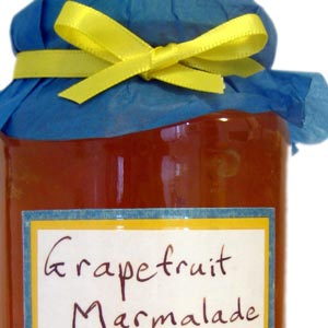 homemade food gifts grapefruit marmalade