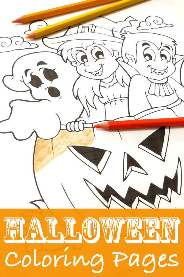halloween coloring pages - 50+ Free Printable PDFs