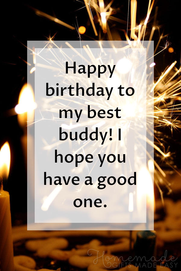 happy birthday wishes images best buddy 600x900