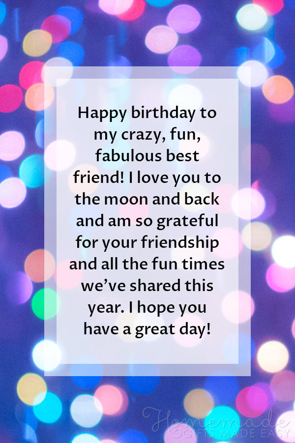 happy birthday images crazy fun friend 600x900