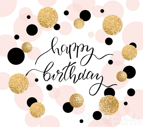 happy birthday images glitter circles 600x534