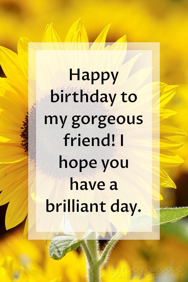 happy birthday images gorgeous friend 600x900