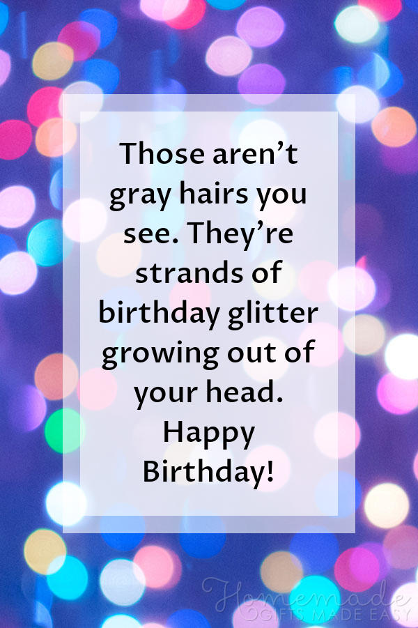 happy birthday images gray hair birthday glitter 600x900