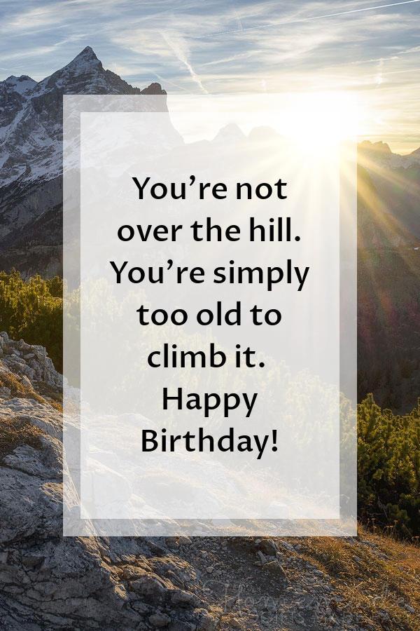 happy birthday images hill climb 600x900