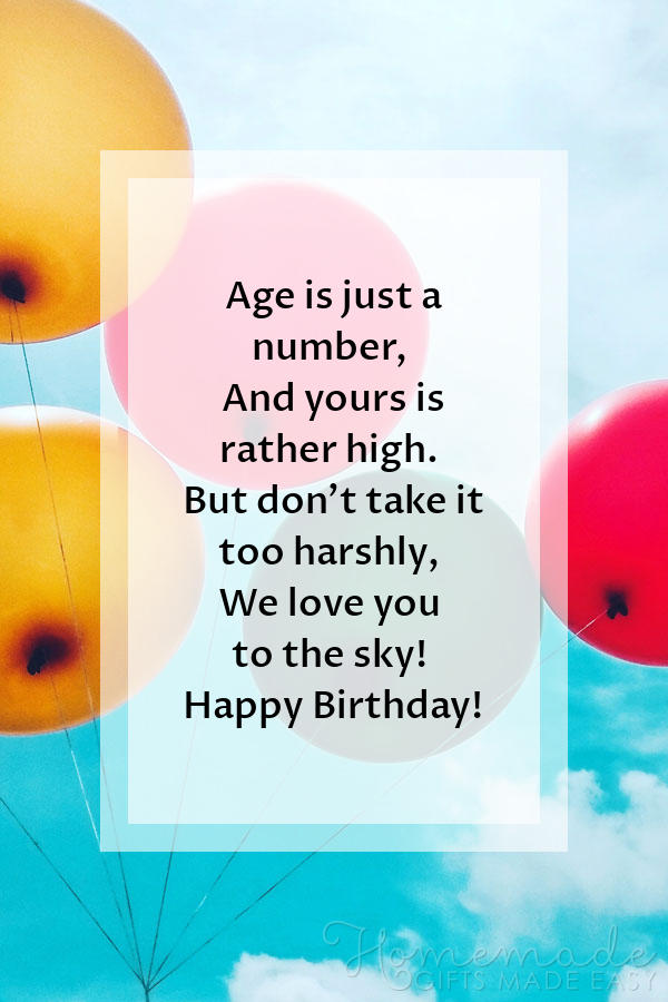 happy birthday images just a number poem 600x900