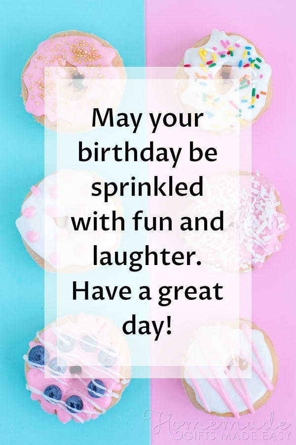 happy birthday wishes images sprinkled fun laughter 600x900