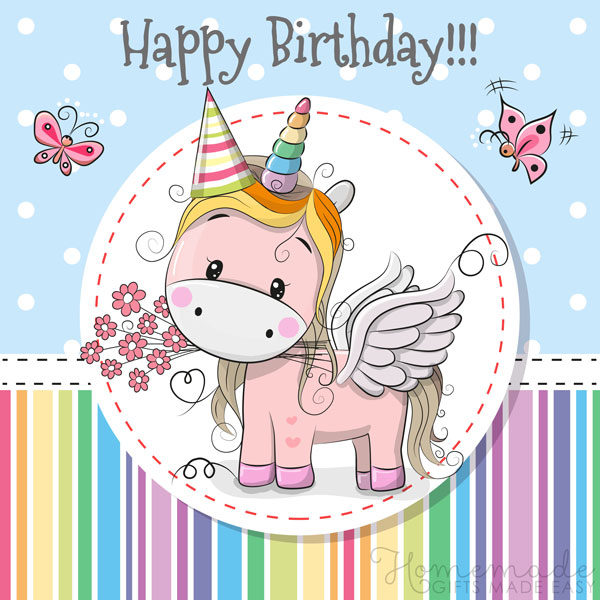 happy birthday images unicorn party 600x600