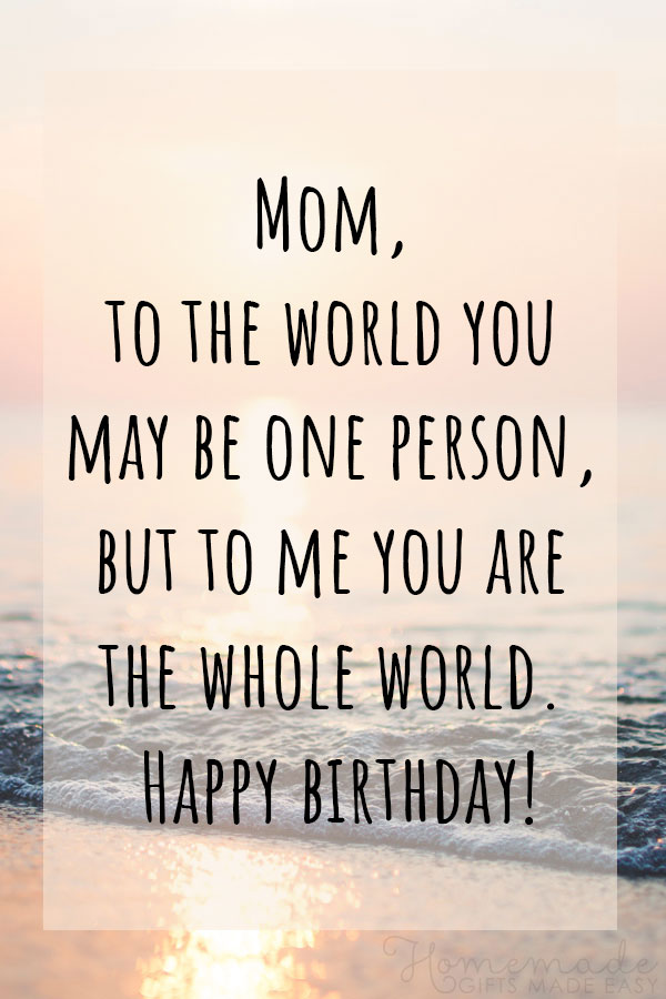 happy birthday mom images with quotes