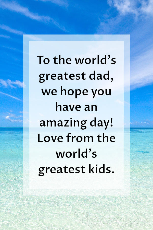 happy fathers day images greatest dad greatest kids 600x900