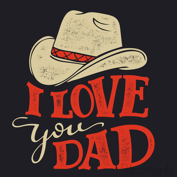 happy fathers day images love you dad hat 600x600