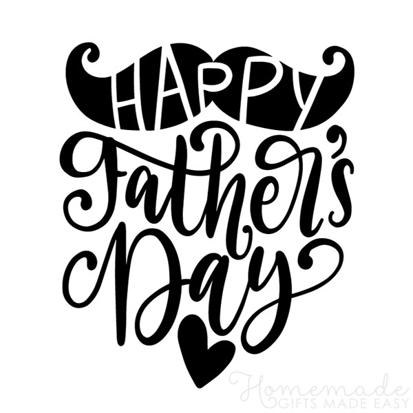 happy fathers day images mustache 600x600