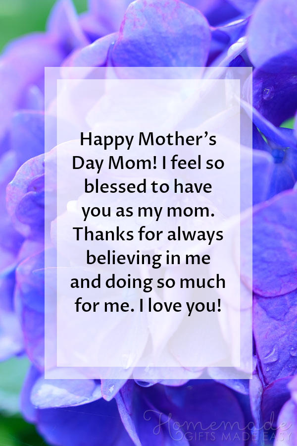 happy Mother's Day images believing in me 600x900