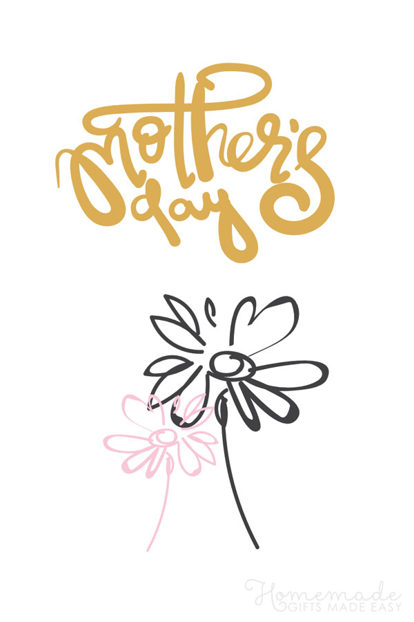 happy Mother's Day images flowers 600x900
