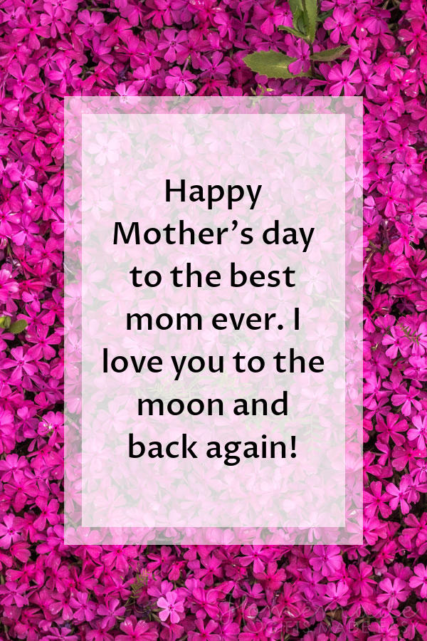 happy Mother's Day images moon and back 600x900