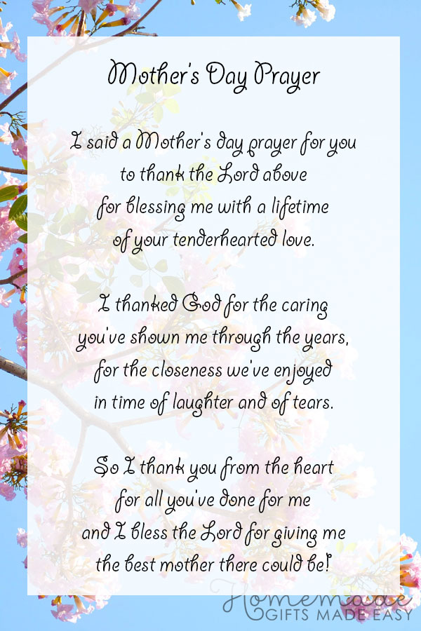 happ mothers day images mothers prayer 600x900