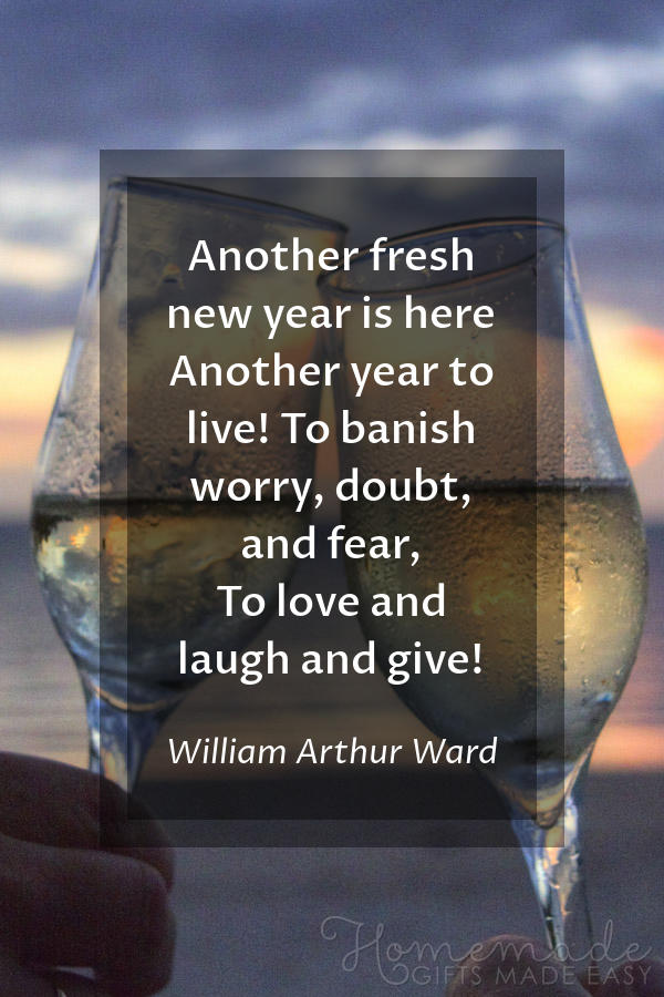 happy new year images banish worry 600x900